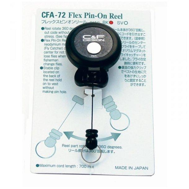 C&F Pin-on-reel m/ flycatcher