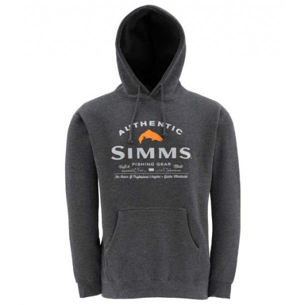 Simms Badge of Authenticity Hoody - hættetrøje